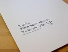 Stadt Erlangen »Broschüre 10 Jahre eGovernment«