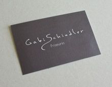 Gabi Schindler »Geschäftsausstattung«