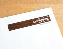Gerd Lippold »Geschäftsaussattung«