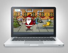 Siemens AG Healthcare »Holidaycard Christmas 2012«