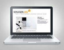Verleger.org »Homepage«